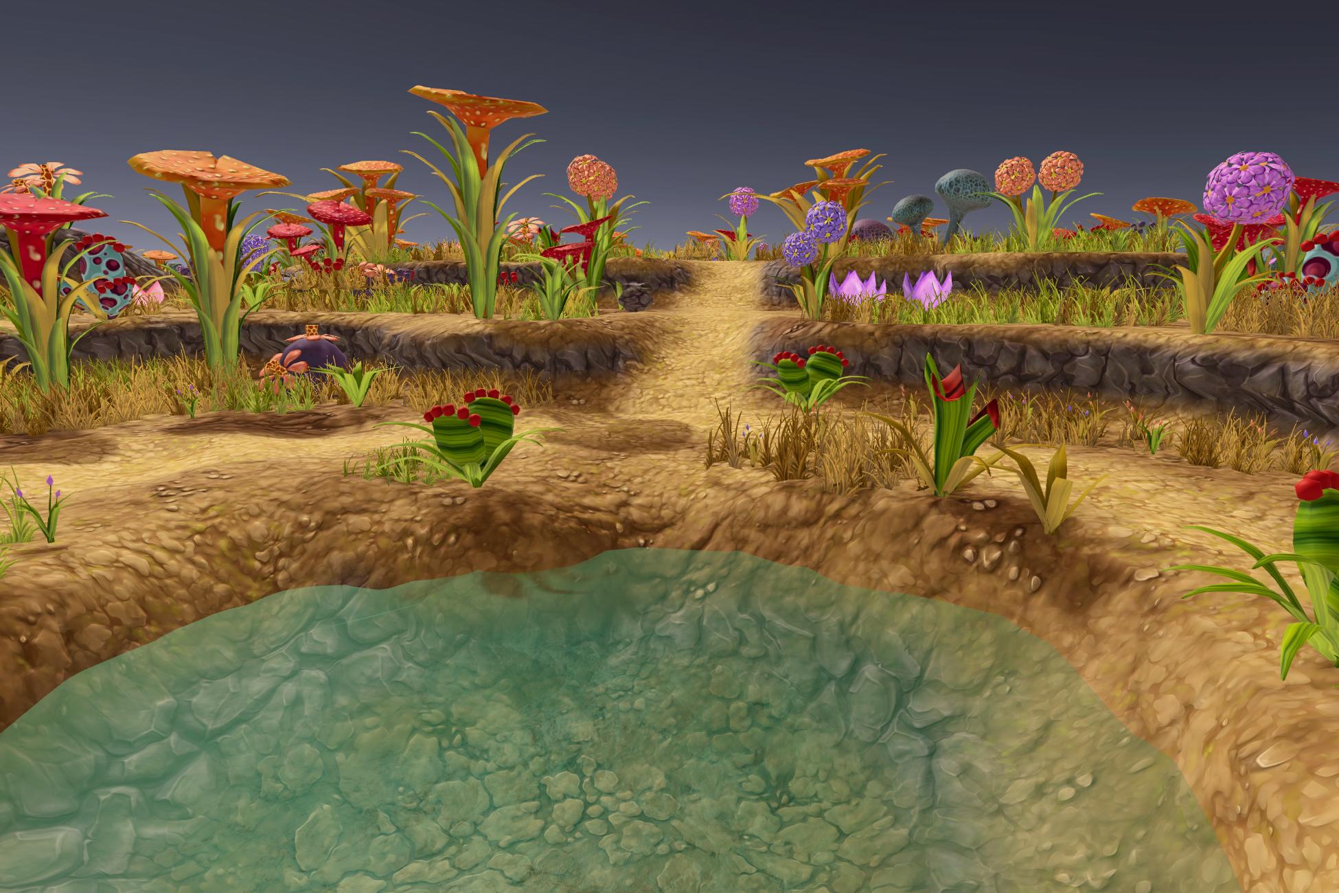 Stylized Fantasy Vegetation 1