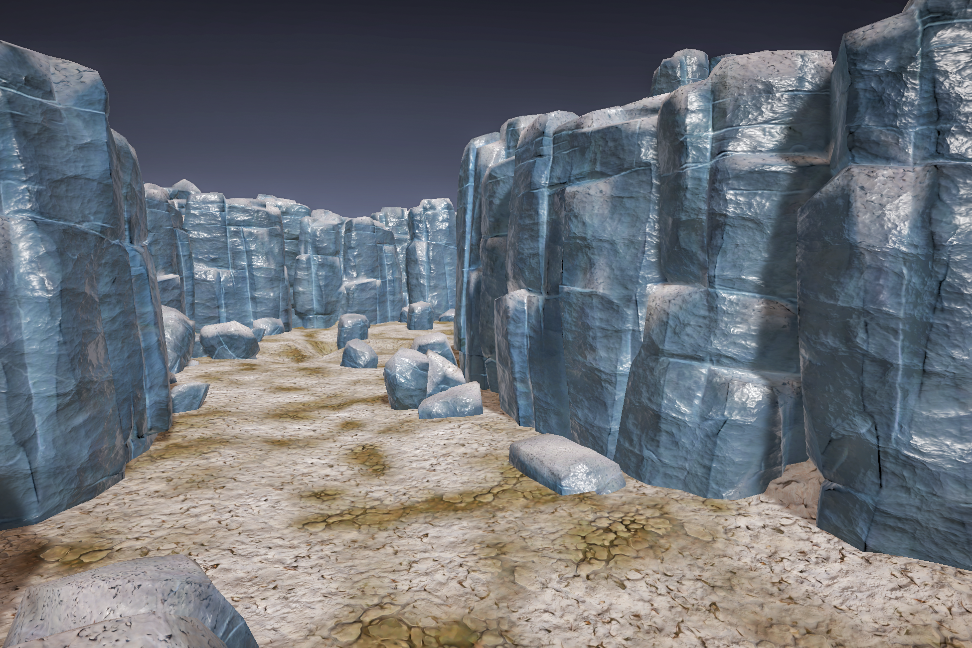Stylized Rock and Boulders 1