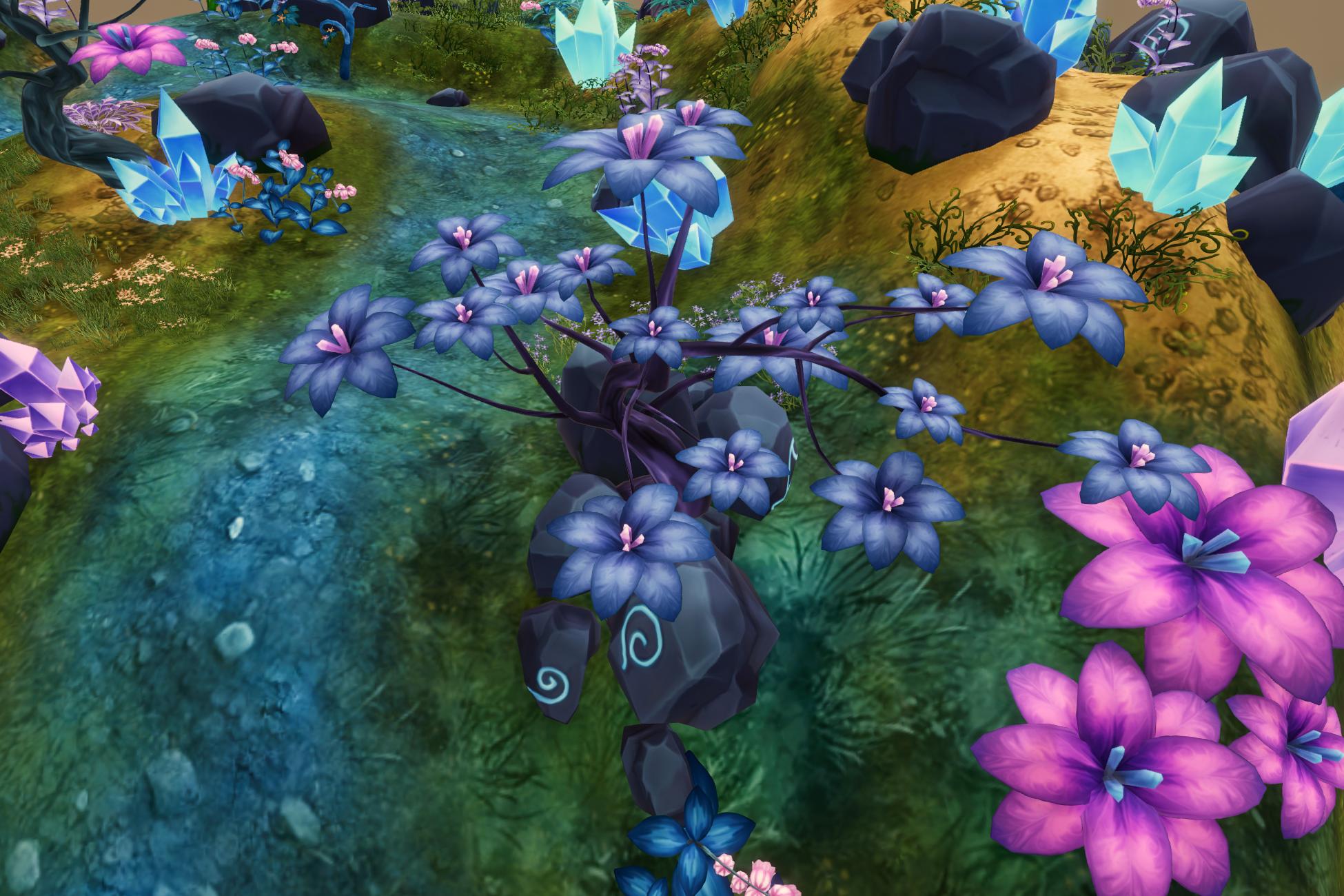 Stylized Fantasy Vegetation 4