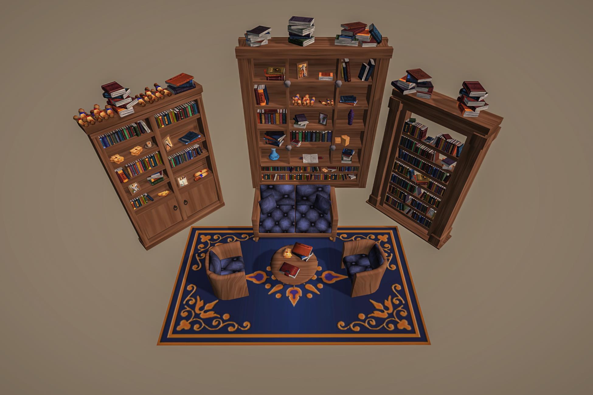 Stylized Fantasy Interior 1