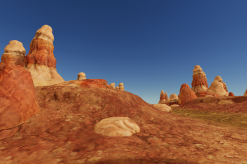 Stylized Rock and Boulders 2