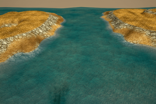 Stylized Modular SeaShore